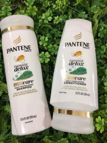 Bộ  PANTENE DAMAGE DETOX (375ML)